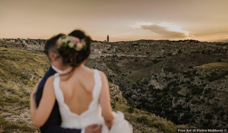 Il matrimonio di Emanuele e Antonella a Matera, Matera