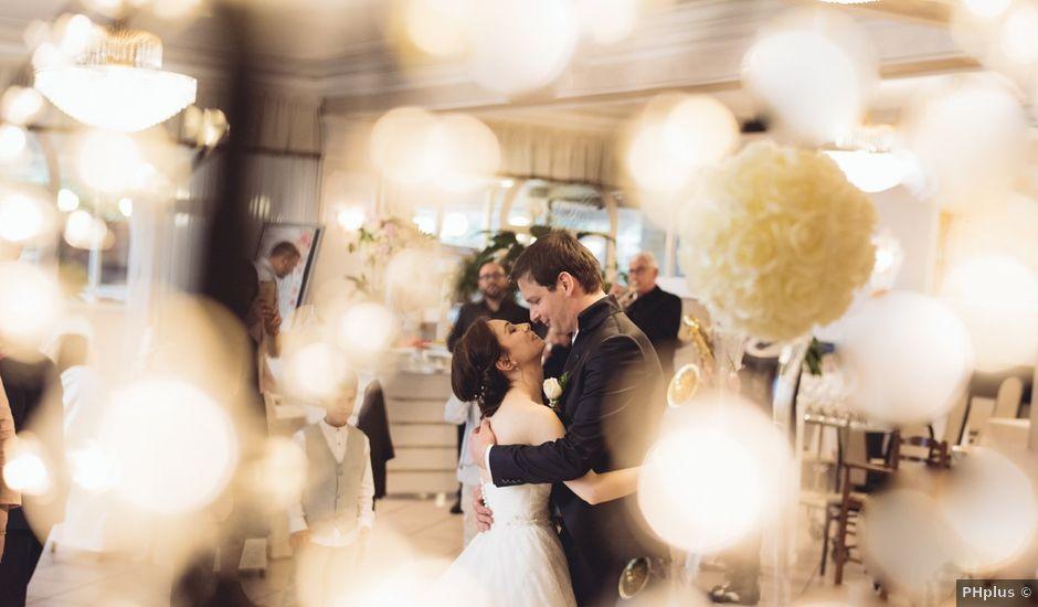 Il matrimonio di Federico e Jessica a Nemi, Roma