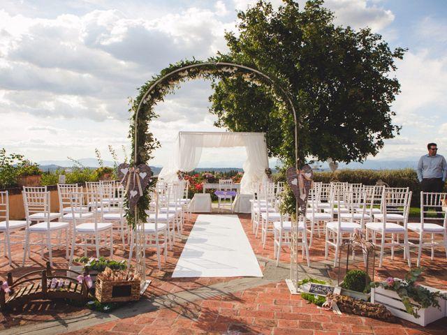 Il matrimonio di David e Martina a Montespertoli, Firenze 7