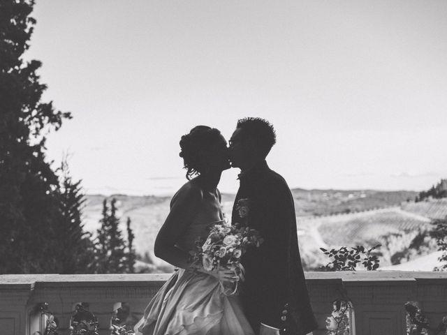 Il matrimonio di David e Martina a Montespertoli, Firenze 2
