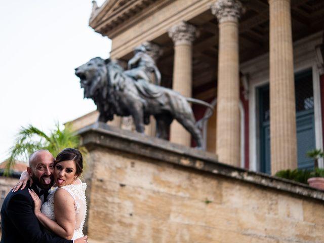 Il matrimonio di Carmelo e Martina a Palermo, Palermo 16