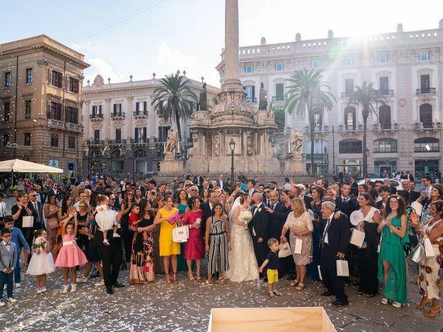 Il matrimonio di Carmelo e Martina a Palermo, Palermo 34