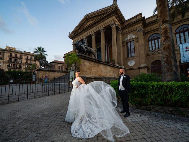 Il matrimonio di Carmelo e Martina a Palermo, Palermo 39