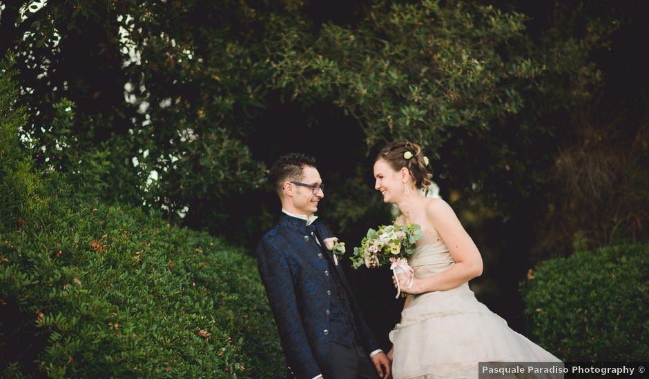 Il matrimonio di David e Martina a Montespertoli, Firenze