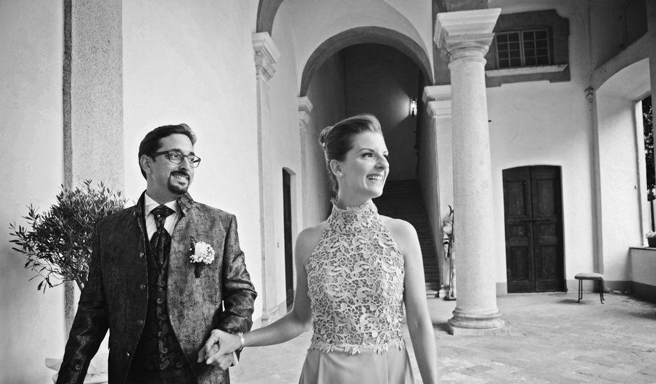 Il matrimonio di Simon e Vera a Vittuone, Milano