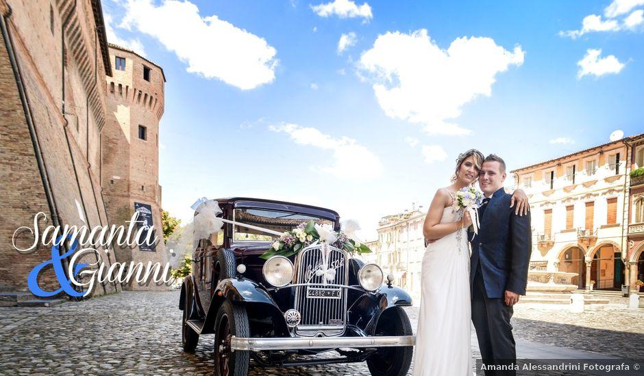 Il matrimonio di Gianni e Samanta a Cesena, Forlì-Cesena