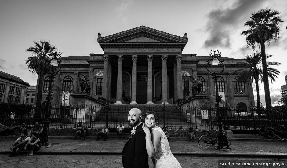 Il matrimonio di Carmelo e Martina a Palermo, Palermo