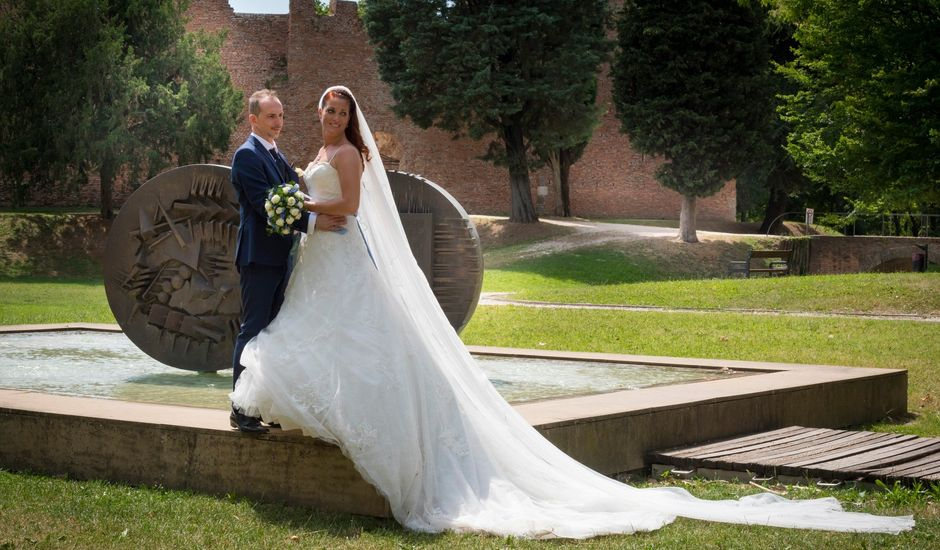 Il matrimonio di Elisabetta e Andrea a Pianiga, Venezia