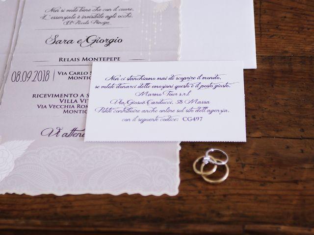 Il matrimonio di Giorgio e Sara a Massa, Massa Carrara 2