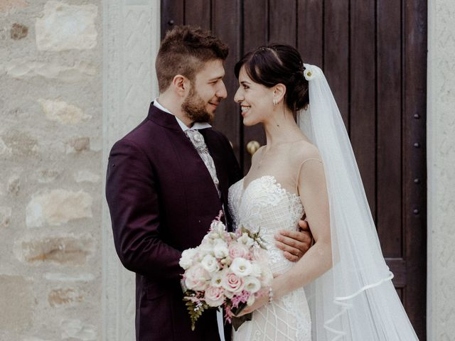 Le nozze di Luana e Daniele
