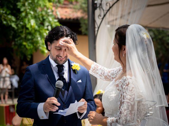 Il matrimonio di Pietro e Francesca a Cocconato, Asti 34