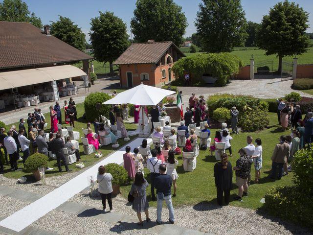 Il matrimonio di Alessandro e Stephanie a Robecco sul Naviglio, Milano 12