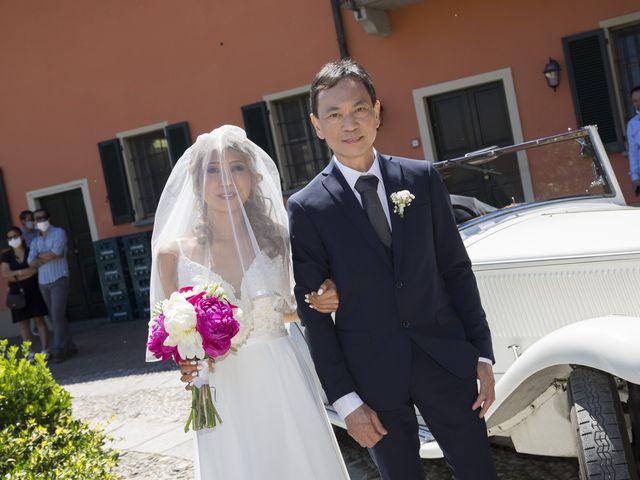 Il matrimonio di Alessandro e Stephanie a Robecco sul Naviglio, Milano 31