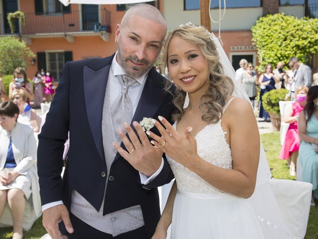 Il matrimonio di Alessandro e Stephanie a Robecco sul Naviglio, Milano 35