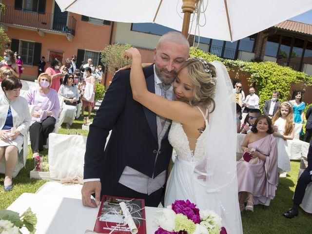 Il matrimonio di Alessandro e Stephanie a Robecco sul Naviglio, Milano 36