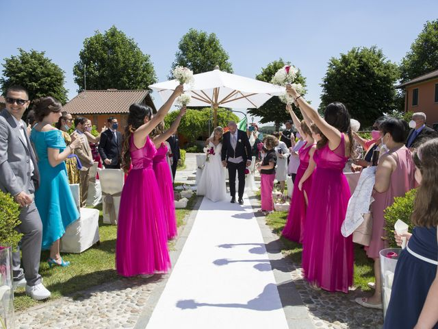 Il matrimonio di Alessandro e Stephanie a Robecco sul Naviglio, Milano 37