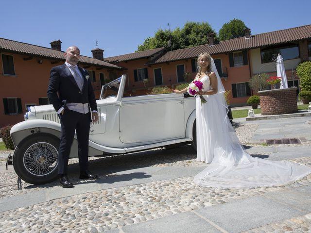 Il matrimonio di Alessandro e Stephanie a Robecco sul Naviglio, Milano 43