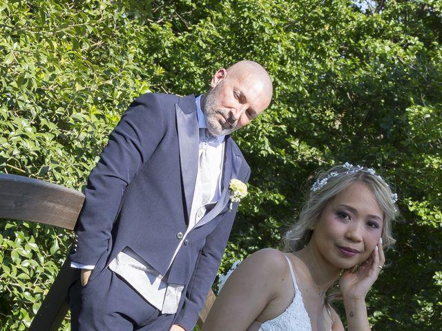 Il matrimonio di Alessandro e Stephanie a Robecco sul Naviglio, Milano 62
