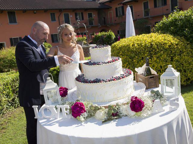 Il matrimonio di Alessandro e Stephanie a Robecco sul Naviglio, Milano 77