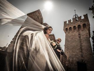 Le nozze di Lorenzo e Jlenia
