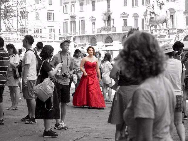 Il matrimonio di Jacopo e Martina a Firenze, Firenze 2