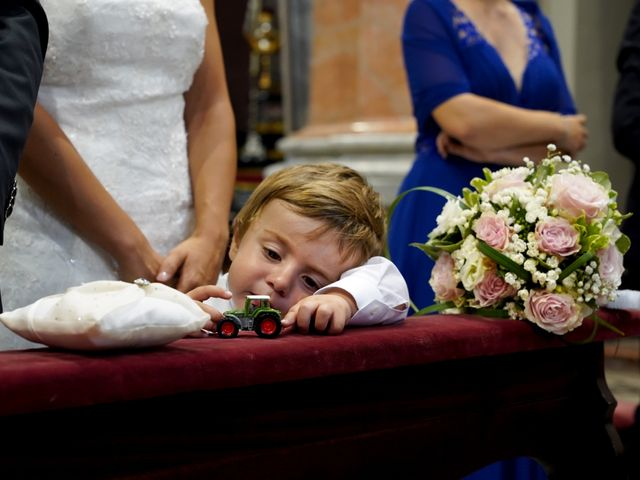 Il matrimonio di Federico e Tatiana a Robbio, Pavia 20