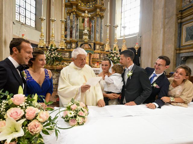 Il matrimonio di Federico e Tatiana a Robbio, Pavia 25