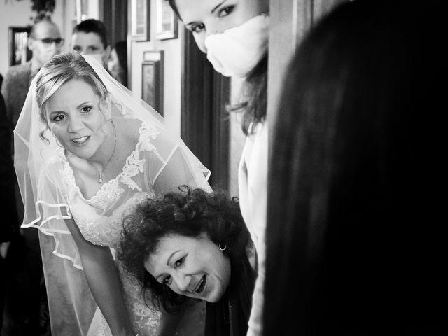 Il matrimonio di Luca e Mara a Cerro Maggiore, Milano 7