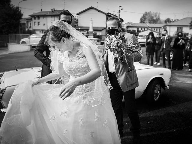 Il matrimonio di Luca e Mara a Cerro Maggiore, Milano 8