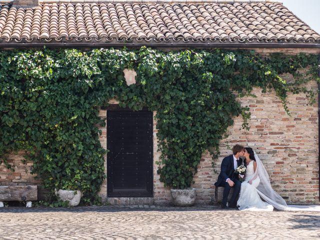 Il matrimonio di Jlenia e Lorenzo a Ancona, Ancona 87