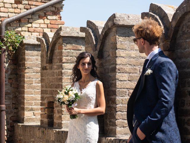 Il matrimonio di Jlenia e Lorenzo a Ancona, Ancona 91