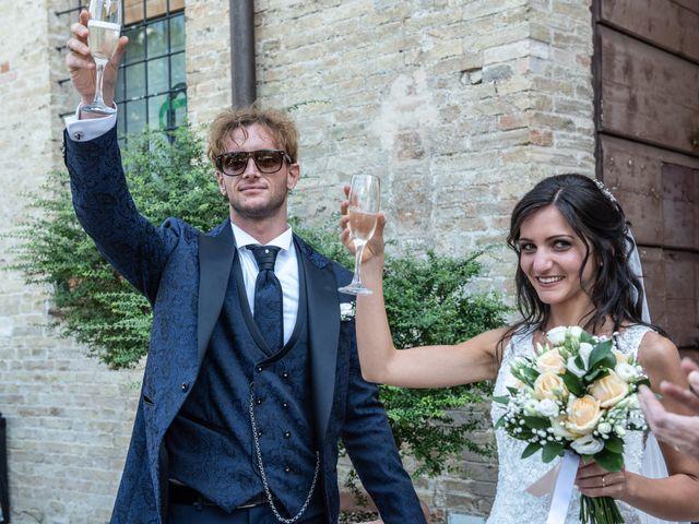 Il matrimonio di Jlenia e Lorenzo a Ancona, Ancona 113