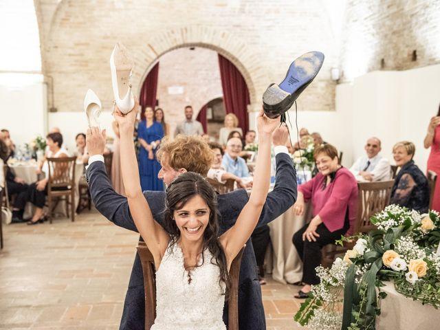 Il matrimonio di Jlenia e Lorenzo a Ancona, Ancona 116