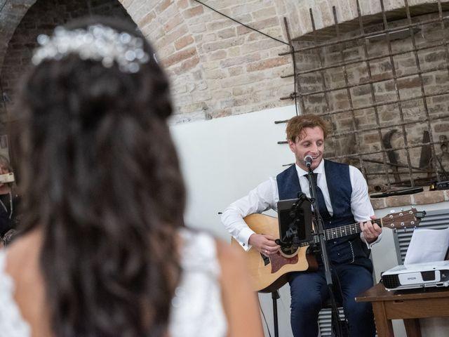 Il matrimonio di Jlenia e Lorenzo a Ancona, Ancona 123