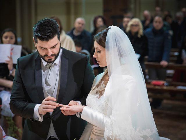 Il matrimonio di Simone e Elisa a Trescore Balneario, Bergamo 25