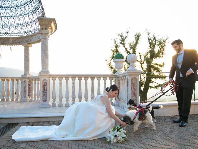Il matrimonio di Simone e Elisa a Trescore Balneario, Bergamo 36