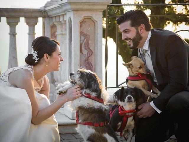 Il matrimonio di Simone e Elisa a Trescore Balneario, Bergamo 37