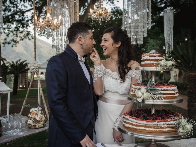 Il matrimonio di Fabio e Rosaria a Cava de' Tirreni, Salerno 31