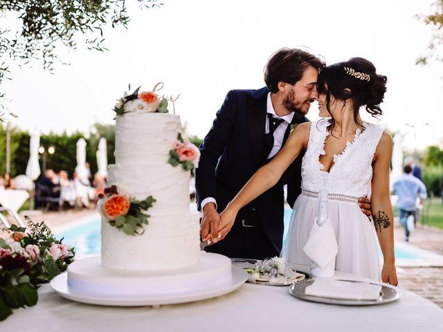 Il matrimonio di Alessia e Nicola a Cingoli, Macerata 97