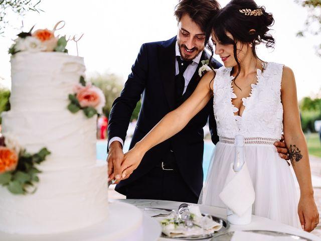 Il matrimonio di Alessia e Nicola a Cingoli, Macerata 99