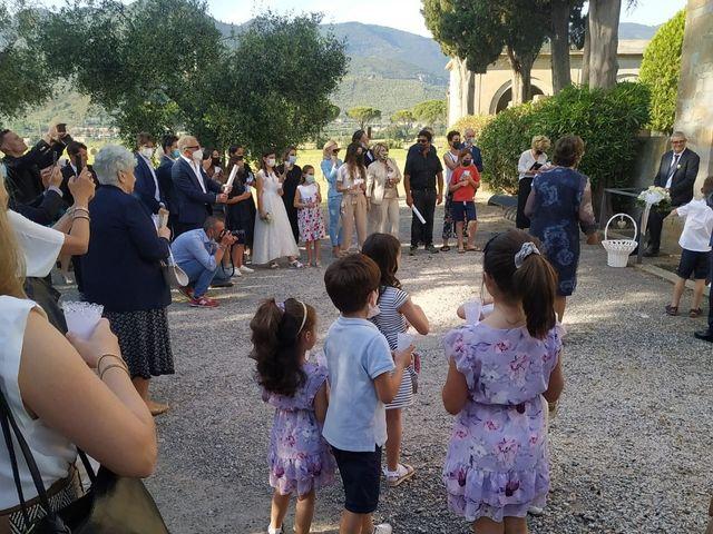 Il matrimonio di Andrea  e Laura  a Vicopisano, Pisa 23