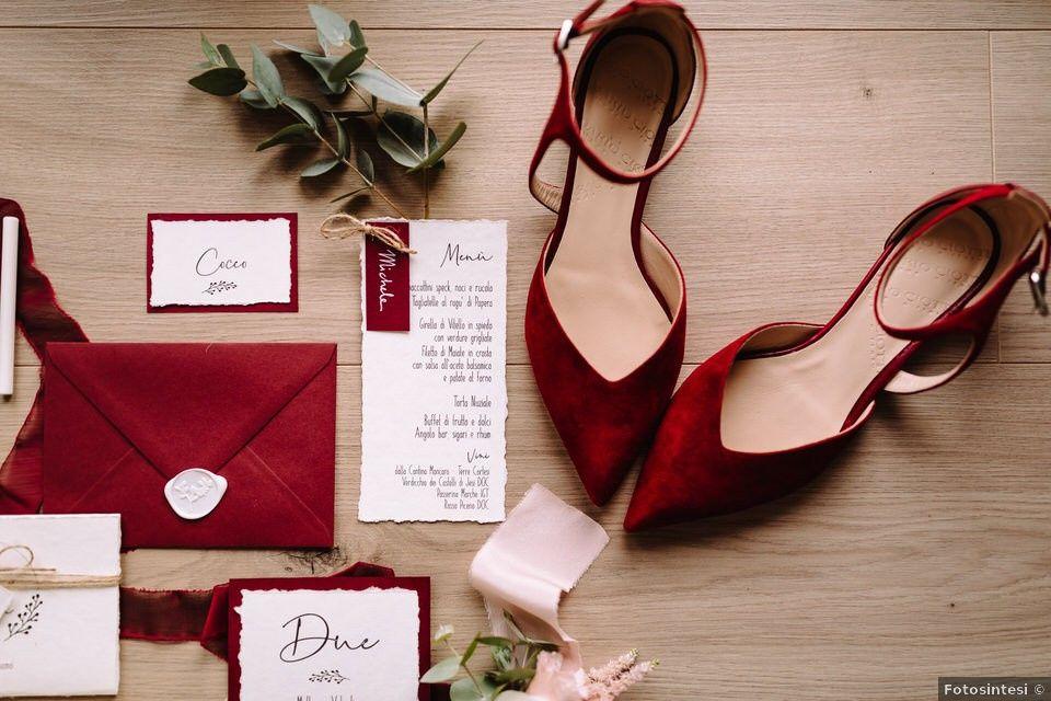 Scarpe da sposa: bianche o colorate? 1