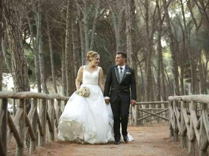 le nozze di Chiara e Pasquale