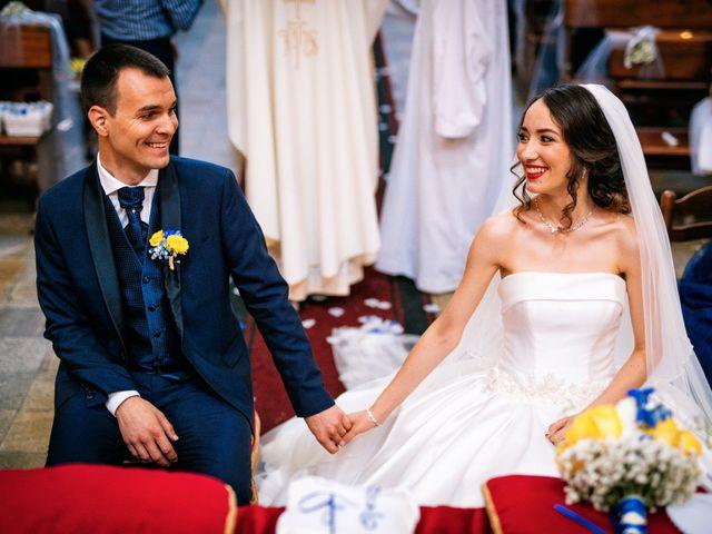 le nozze di Loredana e Daniel