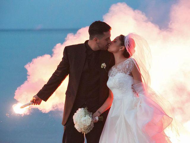 le nozze di Maura e Marco