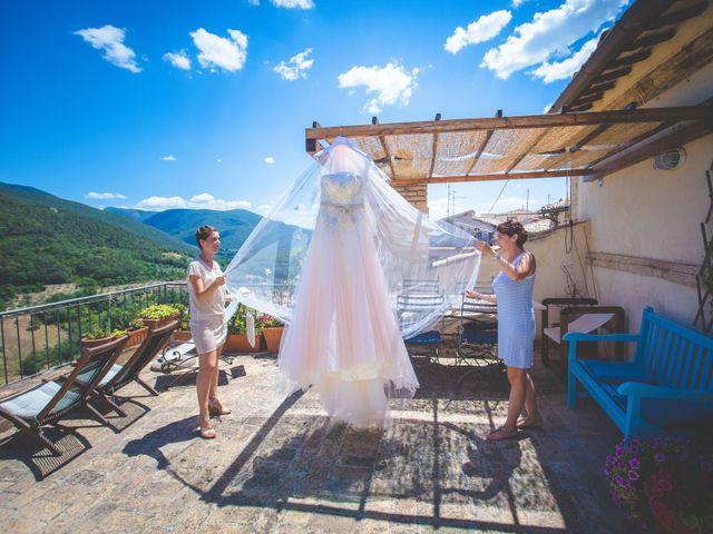 Il matrimonio di Nello e Giulia a Torri in Sabina, Rieti 8