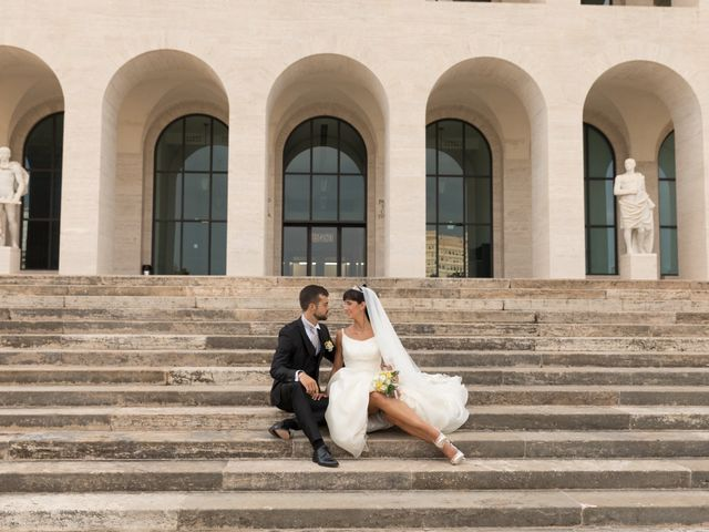 Il matrimonio di Andrea e Anna a Roma, Roma 12