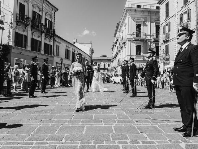 Il matrimonio di Luca e Marika a Vasto, Chieti 57