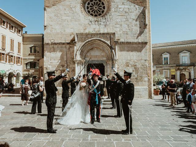 Il matrimonio di Luca e Marika a Vasto, Chieti 128