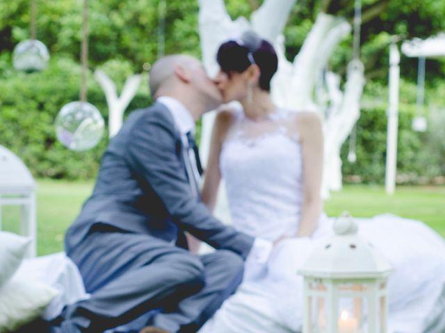 le nozze di Loredana e Ivan